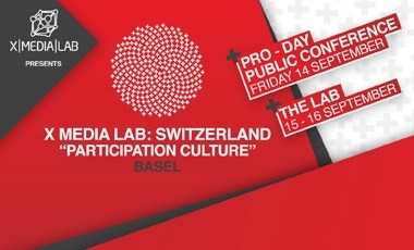 "I'll be in Switzerland Sept 14-16 to speak at X Media Lab - ""digital media think-tank and creative workshop"""