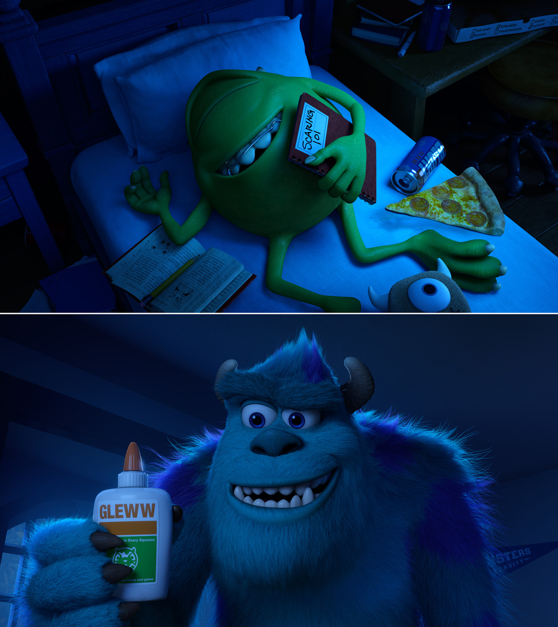 Monsters University GLEWW! Adorable!