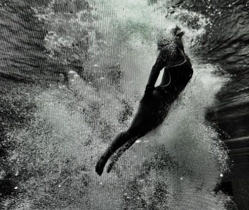 Diving (2012 Olympics in Instagram) by Robert Beck/SI