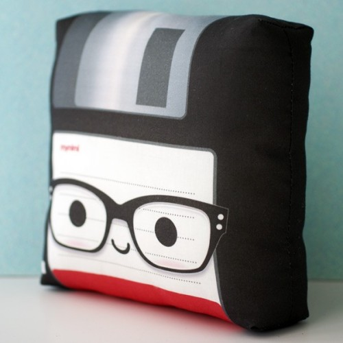 Nerdy Floppy Disk Pillow!