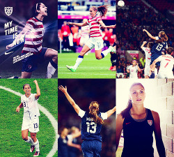 wobbledygook:  Go Team USAAlex Morgan - Women's Soccer