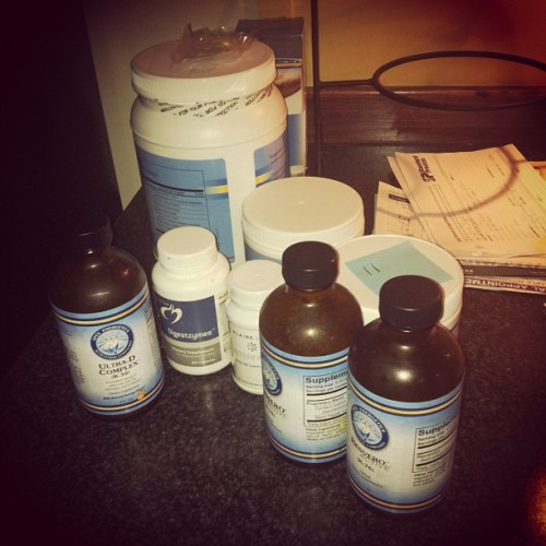 Every day I supplementin' #supplements #detox #health  (Taken with Instagram)