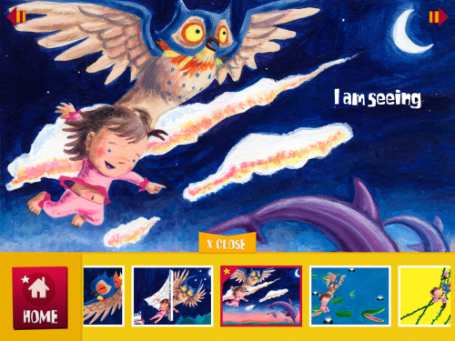 The amazing @CoriDoerrfeld's Leah and the Owl storybook app is now available. Tell all your friends with kids!! It's a great early reader with lots of fun/silly interactive bits. Our daughter, Charli, did an awesome job providing Leah's voice too!