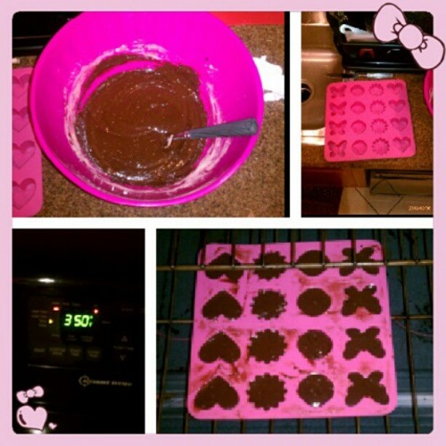 Brownies for my Babies! (Taken with Instagram)