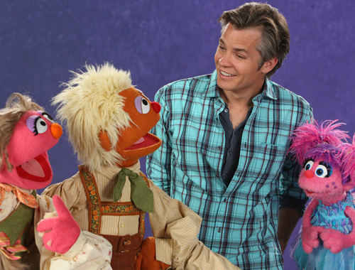 skip-to-the-end:  Timothy Olyphant on Sesame Street