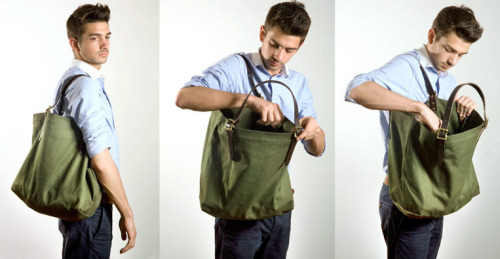 wantering:  Kaufmann Mercantile Duluth Pack Canvas Tote Bag