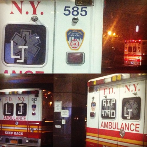 #lennyjoyner #rip #love #bronx #paramedic #ems #emt #4790  (Taken with Instagram at Bronx Lebanon Hospital)