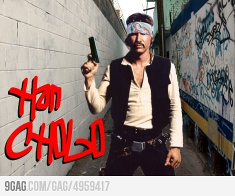 Makes sense. He's always rollin' with his homeboy Chui. (via 9GAG)