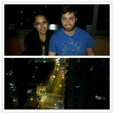 Sky lounge on our last night in Chicago! #lolla @ilovesundaes  (Taken with Instagram)