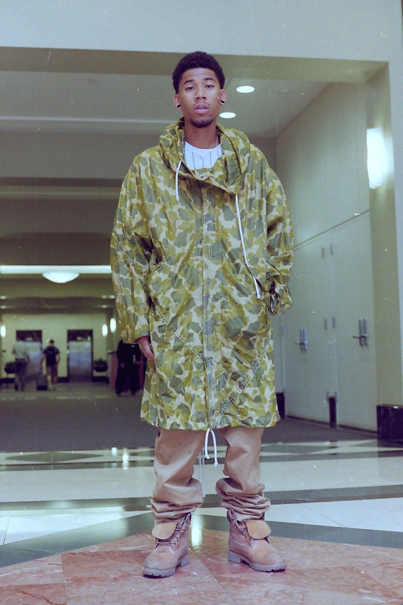 allworknopay:  summer 2012hodgy and his infamous parka