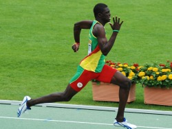 Olympic tHIMspiration: (One of my favs. ;D) Kirani James. Grenadian sprinter.