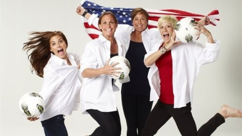 Good luck, ladies!   meggs:  Let's Go USA!!! GOR FOR GOLD!