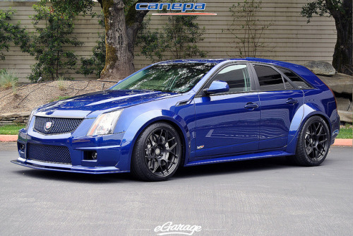 ricky-s-photo:  HRE wheels Cadillac CTS-V by eGarage.com on Flickr.