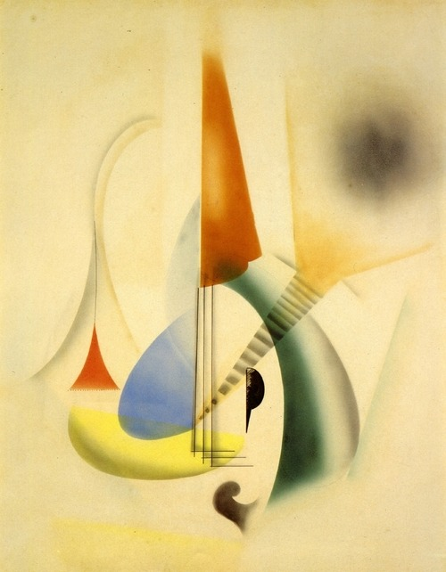 Man Ray, Jazz, 1919.