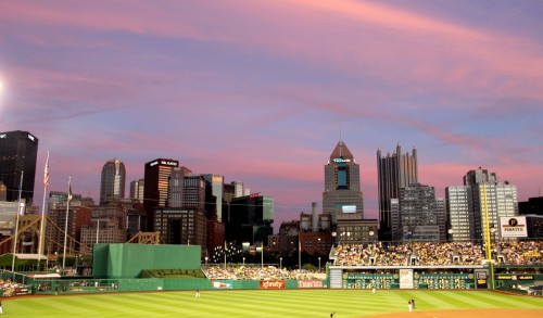A beautiful night at PNC Park with all of my lovely coworkers.I am madly in love with life on nights like this.