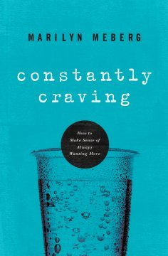In Constantly Craving author Marilyn Meberg tackles an issue so predominant in our modern society: the curse of always wanting, seeking, hungering for more and how this ceaseless drive can bring us to a place of always feeling shorted.  Meberg, trained in psychology, explains that craving is rooted in childhood and can be a driving force for positive ends, but can also grow beyond our control pushing us to a place of never being satiated and always feeling unhappy.   For such a worthy topic, this book falls short.  I found it to be too simplistic and too laden with the author's personal anecdotes.   The text was just too flimsy for such a deep topic.