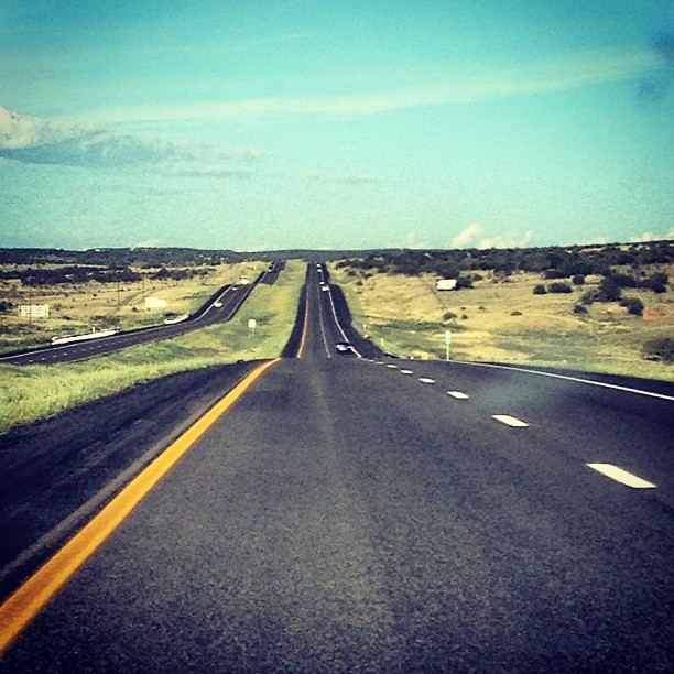Taking on the open #road (Taken with Instagram)