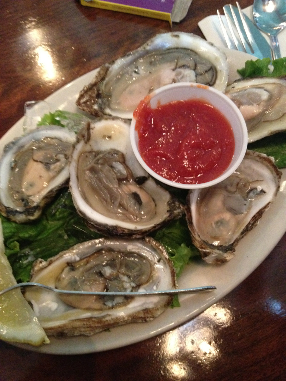 Oyster from La Forge Casino in Newport, RI