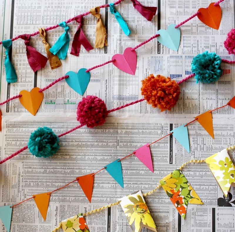 Check out 10 DIY Garlands from A Beautiful Mess Blog on The Daily Quirk!