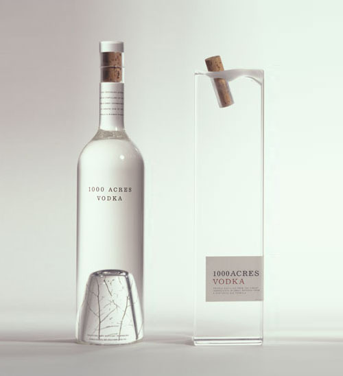 cleansight:  (via 1000 Acres Vodka Packaging by Arnell | Daily Icon)
