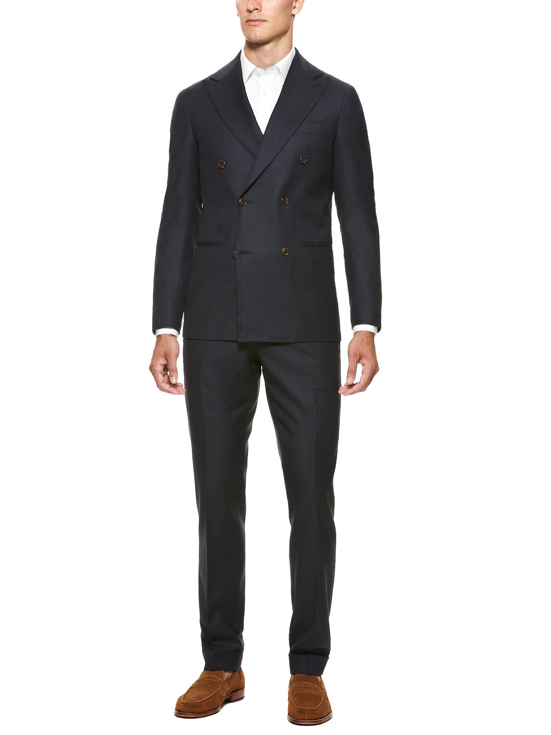 OUR PICK OF THE WEEK- Suitsupply x Park & Bond double breasted suit Already a well documented part of the European suiting scene, Suitsupply recently laid its assault bare on the North Atlantic, with stores in NYC, Chicago and one slated in D.C later this year. Working from a principal of affordability, high quality and individuality, its no wonder that the Amsterdam based company has captured the eye of menswear blogger heavyweights, GQ and yes, even Park & Bond. Its fitting then that our pick of the week is this EXCLUSIVE collaboration between Park & Bond and Suitsupply: the ultimate double breasted suit under $600. Made with Super 130 wool and genuine horn buttons, this DB suit has all the hallmark details of a Suitsupply product (like features beyond the price point) while benefiting from a design direction from Park & Bond. The fully lined jacket is accompanied by hem cuffed trousers in a handsome drape (complete with partial knee lining), and can be worn in numerous ways that boost the versatility of what at first seems a basic suit. Available now at Park & Bond For Styleternity's full review of Suitsupply, click through here  STYLETERNITY