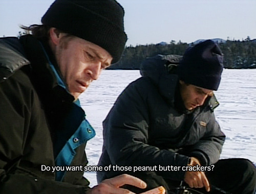 strangewood:  Fishing with John — Maine with Willem Dafoe