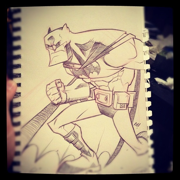 #Batman (Taken with Instagram)
