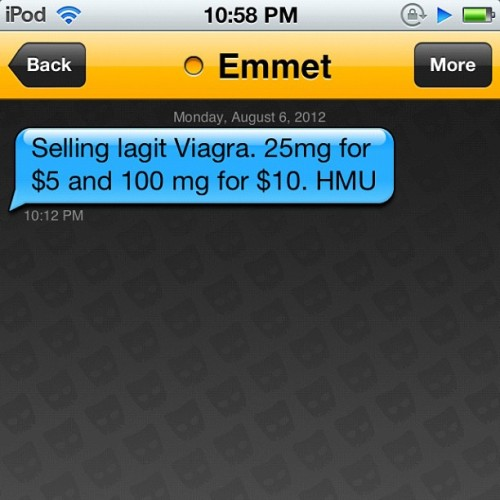 Wtf!??? I Get On #Grindr & I Get A Message, What He Asks Me Me??? Wtff, I Don't Need No Fucken #Viagra, I'm Not Old. & My Dick Don't Have Problems! (Taken with Instagram)