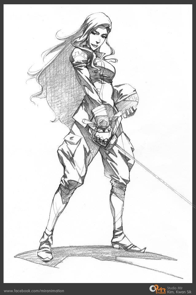 benditlikekorra:  This is Asami Sato as an olympic fencer from the Studio Mir page on Facebook. Perfection doesn't even begin to describe this.