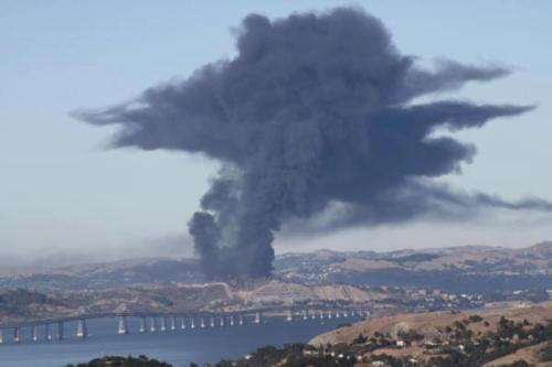The Chevron refinery poisoning Richmond, California on August 6