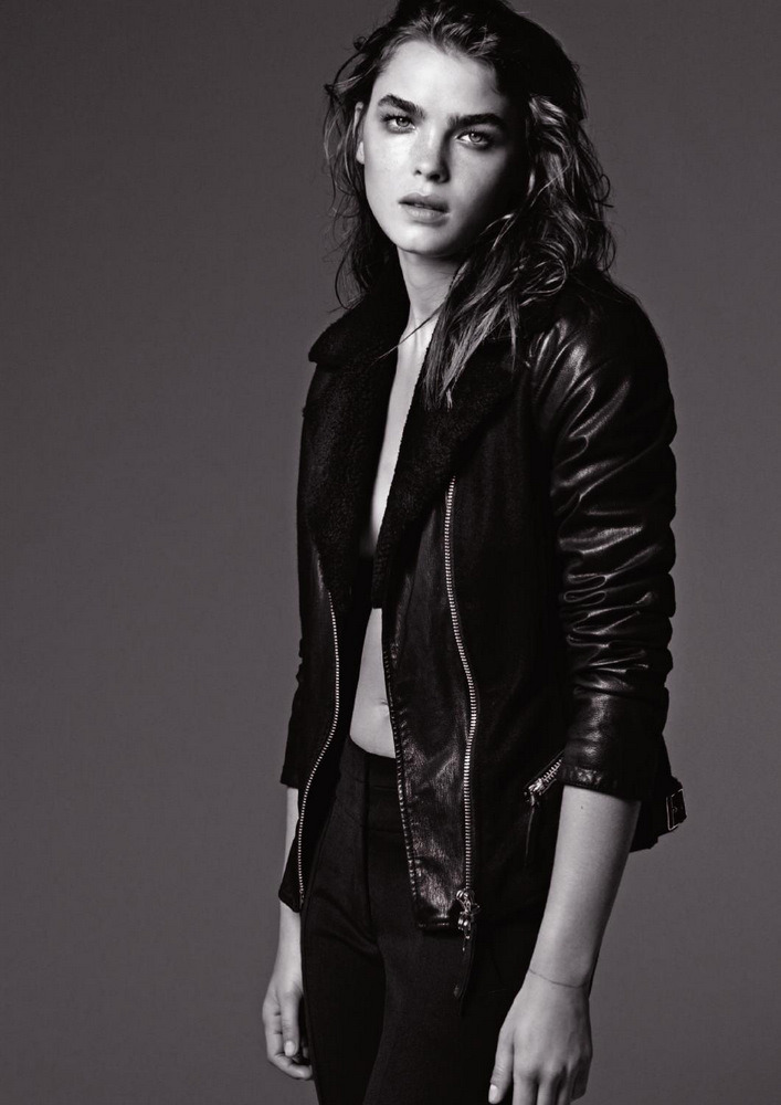Giorgio ArmaniArmani Jeans Fall/Winter 2012Bambi Northwood Blyth and Sean O'Pry
