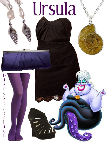 disneyfatshion:  Dress Tights Purse Shoes Earrings Necklace  Sometimes I just want all the money so I can buy all these outfits I put together so I can dress up as Disney Characters every day.