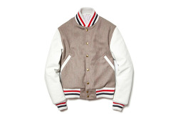 What We Love: Thom Browne varsity jacket