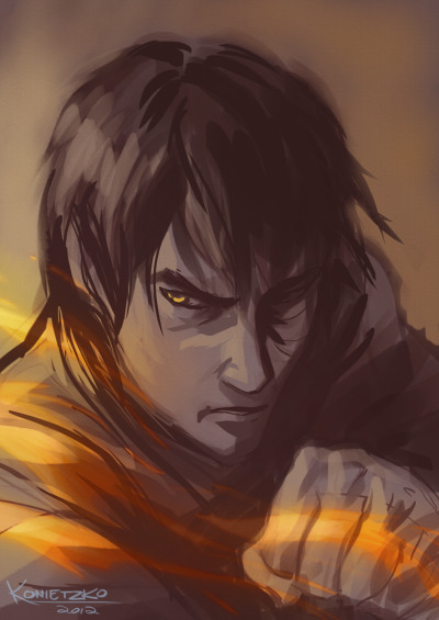 bryankonietzko:  ZUKO SKETCH Happy ten years, buddy.    Badass!