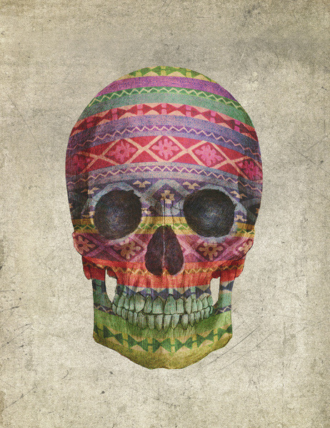 urhajos:  'Navajo Skull' by Terry Fan