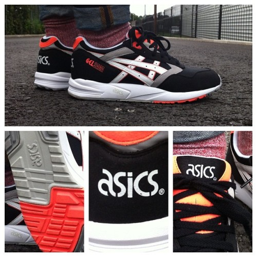 The Gel Saga is the first of four Asics silo's to land at Drome this week. Thoughts? #asics #gel #saga #orangeblaze #sneakers #drome (Taken with Instagram)