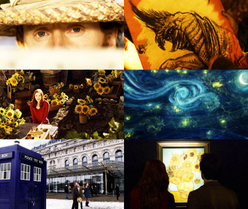 "Favourite Episodes: Vincent and the Doctor  ""It seems to me there's so much more to the world than the average eye is allowed to see. I believe, if you look hard, there are more wonders in this universe than you could ever have dreamt of."""