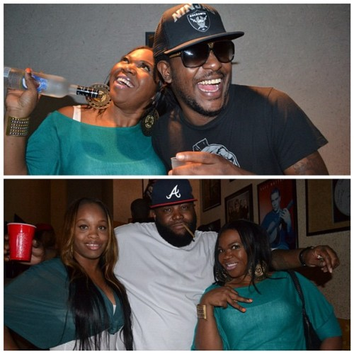 2Chainz Dinner with Freshalina, Pill… Killer Mike and Mrs. Killa Kill aka Shay Bigga! Best Day EVER!!!