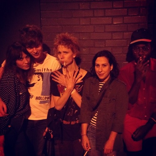 Alexa, Matthew Hitt, Paisley Adams from Pond and Blood Orange.