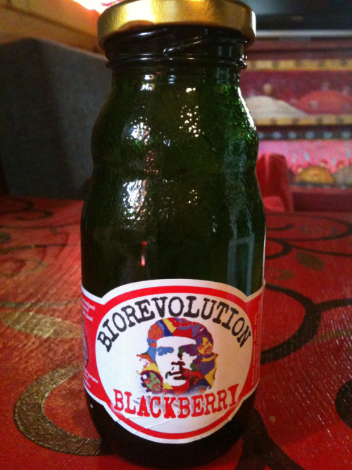 Kusturica is a true Che Guevara fan. His famous Bio-Revolution drink features the famous Socialist, much to my absolute like!