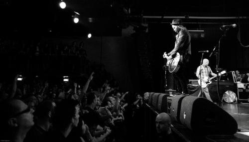 Rancid in Amsterdam (melkweg) on august 3 2012. (I'm in front row, looking at tim :P )