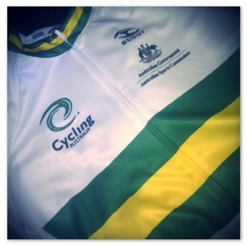 My team kit arrived today. The UWCT Final is starting to feel real. (Taken with Instagram)