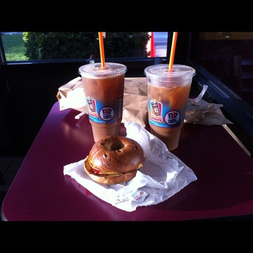 Breakfast of Champions (Taken with Instagram at Dunkin' Donuts)