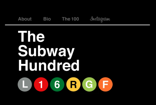 "The Subway Hundred: the NY commute captured.  After moving to NYC in February, Ron Vilavarillo found himself ""studying the patterns and idiosyncrasies of commuters."" Over 100 days, he's sharing 100 photographs, offering a glimpse into his own commute."