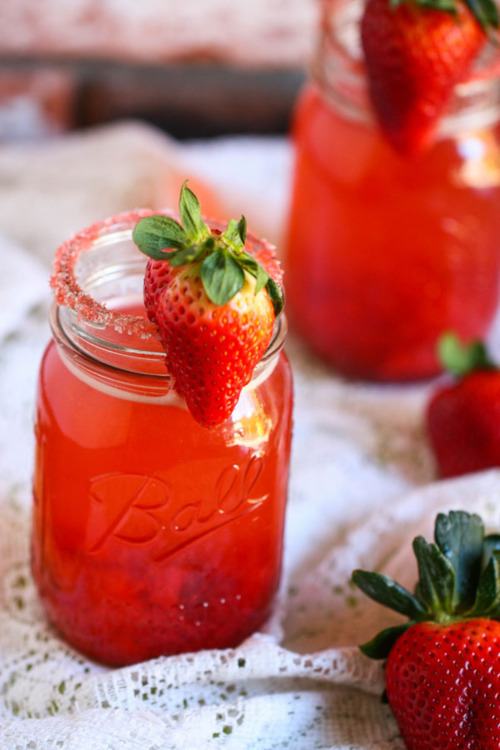 yummaystuff  strawberry lemonade.