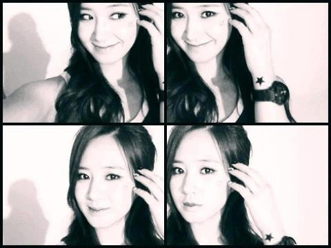 twinkling-soshi:  YURI'S RECENT SELCA. OMG. WHY ARE YOU SO PRETTY! :D
