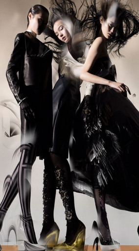 Iconic World of Fashion by Nick Knight for Lane Crawford