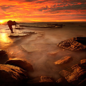 Fire  on Turimetta by -moogrob22- #flickstackr  500px: http://500px.com/photo/11226529