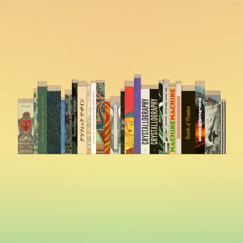 javierarce:  I've designed a bunch of spines for imaginary books I'd like to read. Click on the image to see a bigger version.