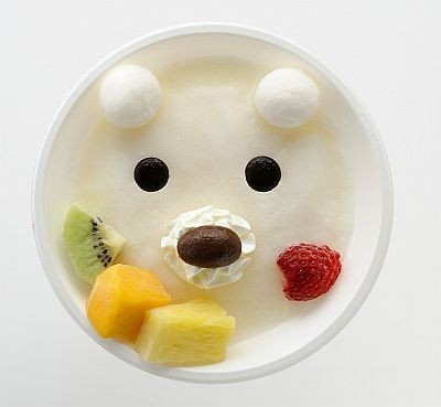 Shirokuma  Don't cry grizzly bear.